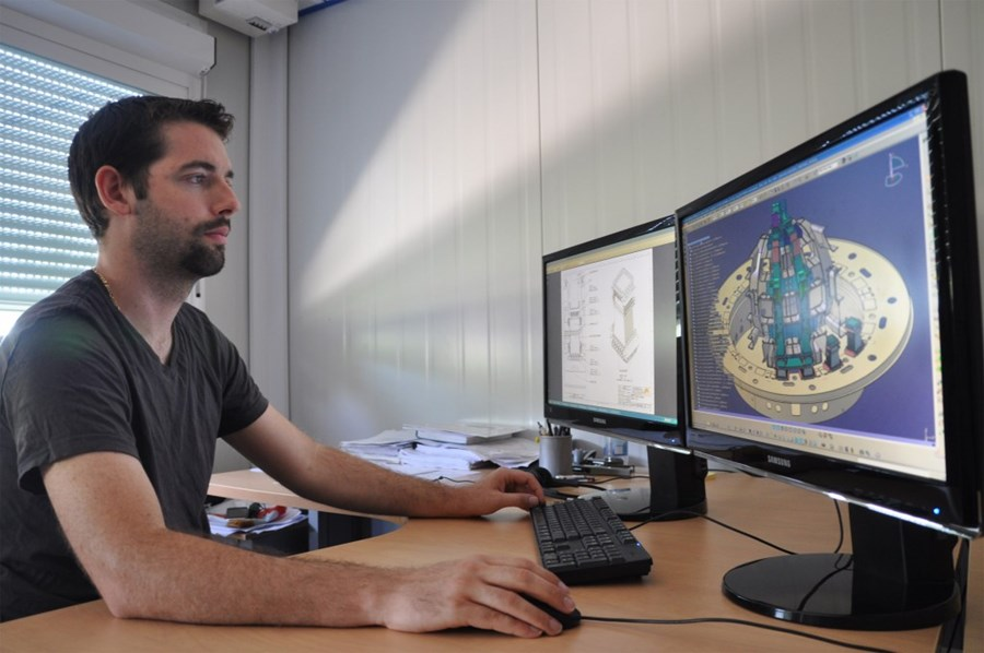 A day in the life of Baptiste, CAD designer