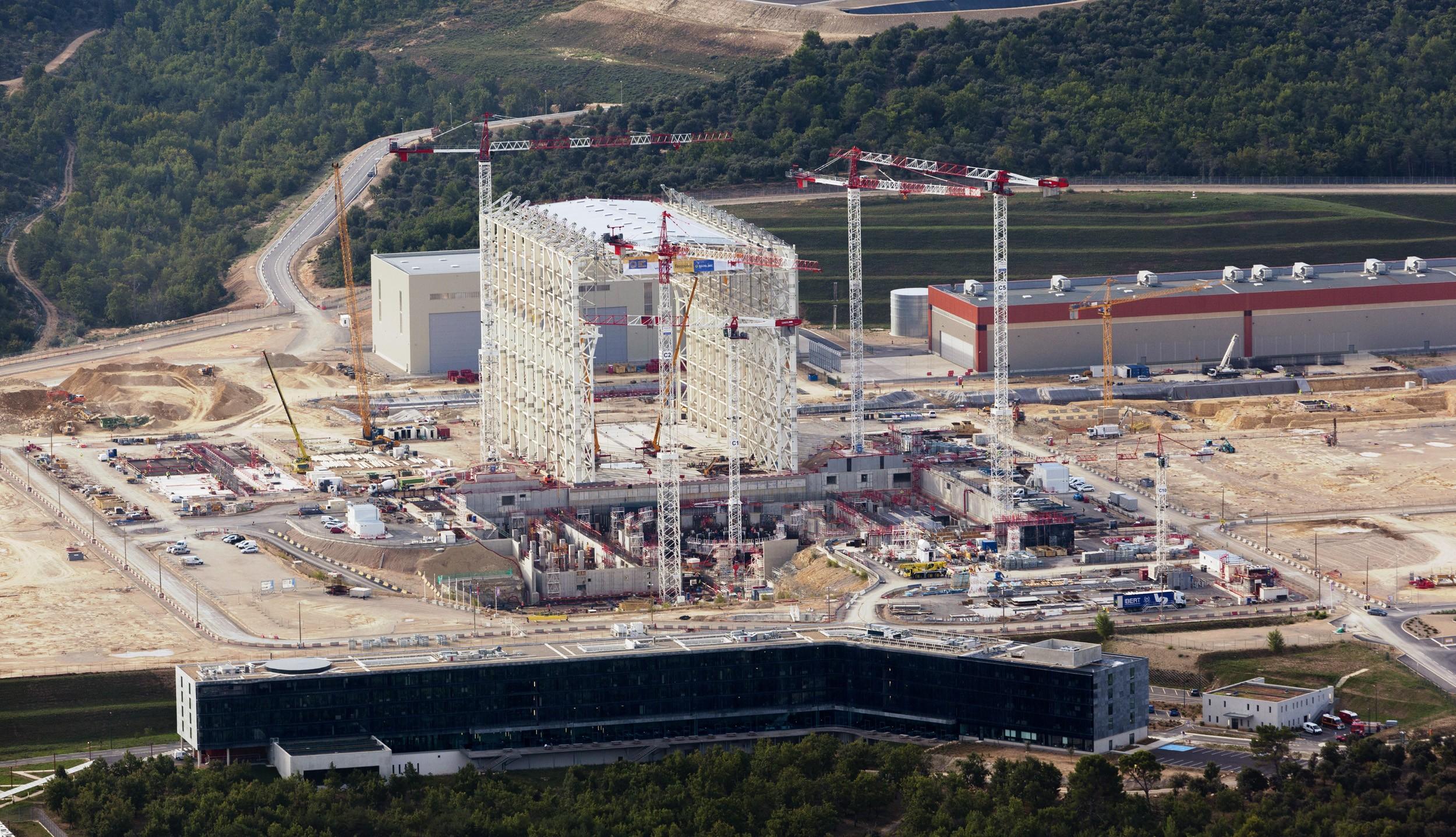 Fusionsreaktor Frankreich