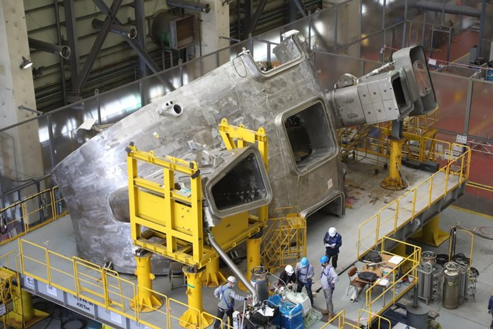Industrial milestone : Korea completes the first vacuum vessel sector