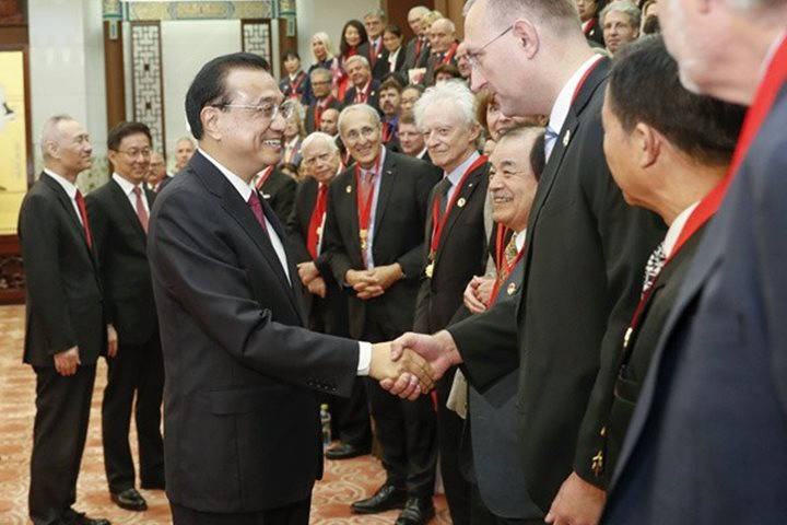 Chinese government bestows Friendship Award on the ITER Director-General