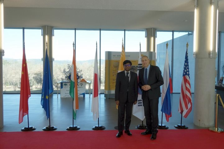 India's Ambassador to France at ITER