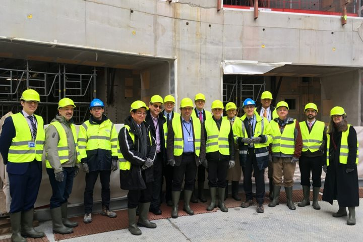 "US ""Burning Plasma Committee"" visits ITER"