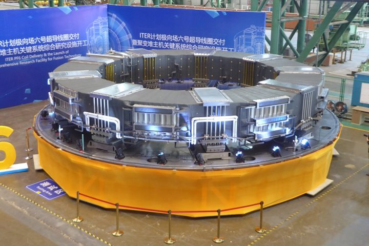 400-tonne magnet ready to ship