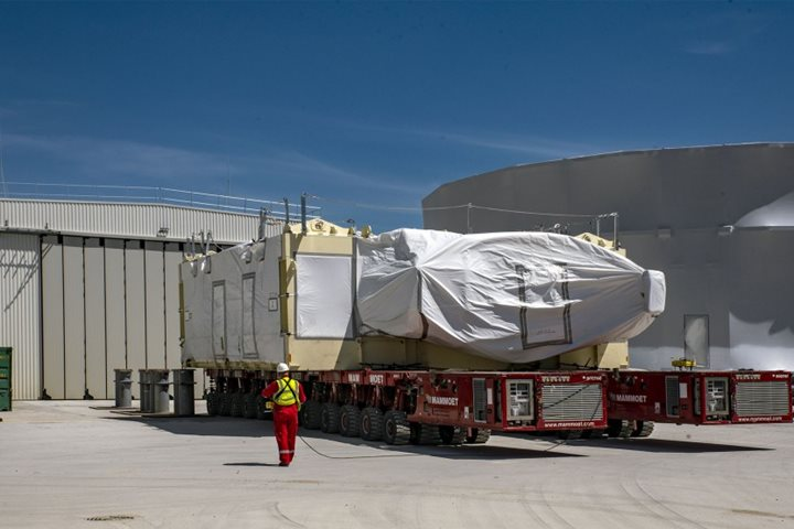 Second magnet coil reaches ITER