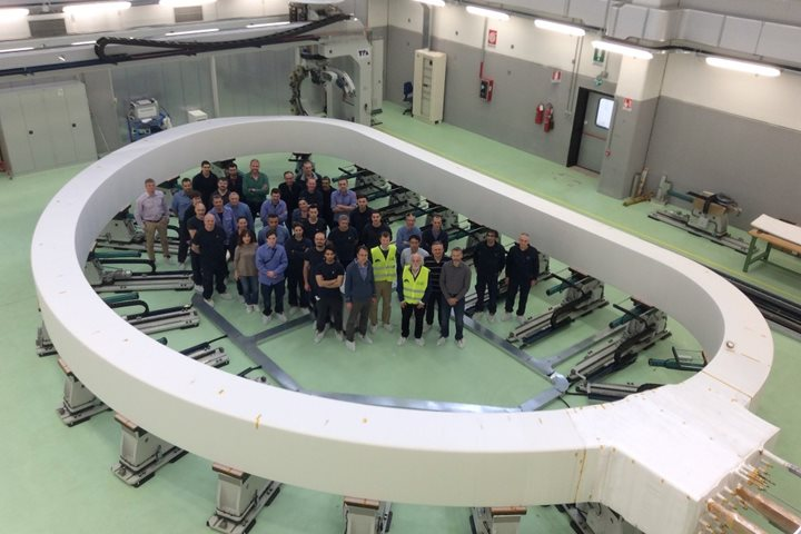 First ITER winding pack completed in Europe