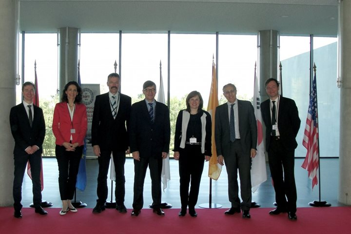 A delegation from the Helmholtz Association of German research centres