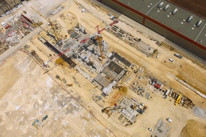 Construction progresses on 5,400-m² facility at ITER