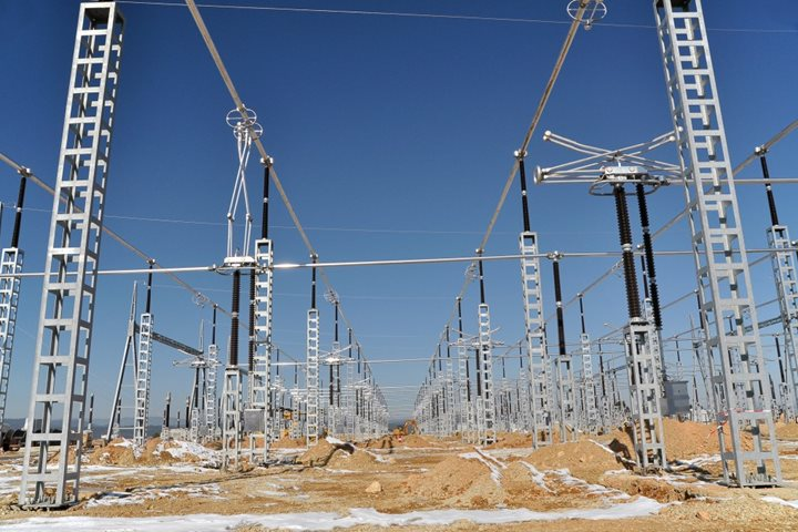 Energization of the 400kV switchyard