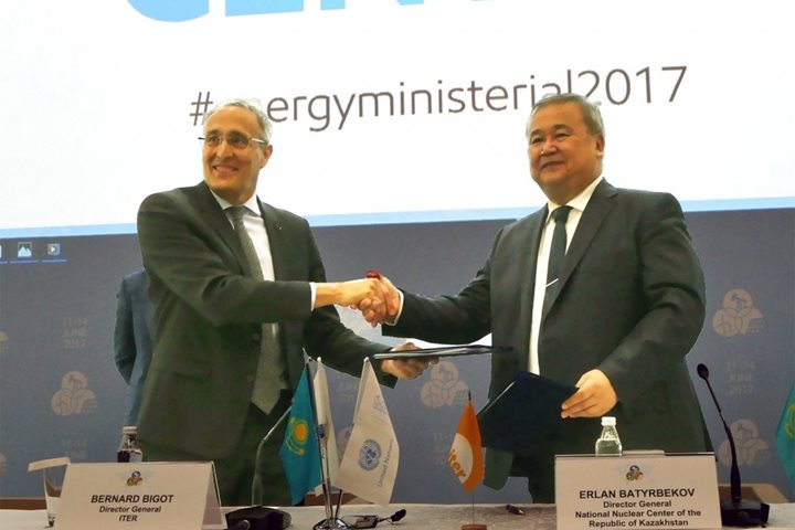Cooperation Agreement signed with Kazakhstan
