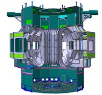 The ITER thermal shield will be installed between the magnets and the vacuum vessel/cryostat in order to shield the magnets from radiation. (Click to view larger version...)