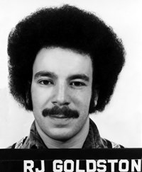 In her 1990 book on fusion history (''Fusion, the search for endless energy''), author Robin Herman described young Rob Goldston as wearing ''black Cossack mustache and bushy hair black hair that grew out and up so that the circumference of his head increased as weeks went by.'' (Click to view larger version...)