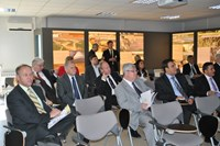 Lina Rodriguez presented the project to the NATO delegation. © Courtesy JVT (Click to view larger version...)