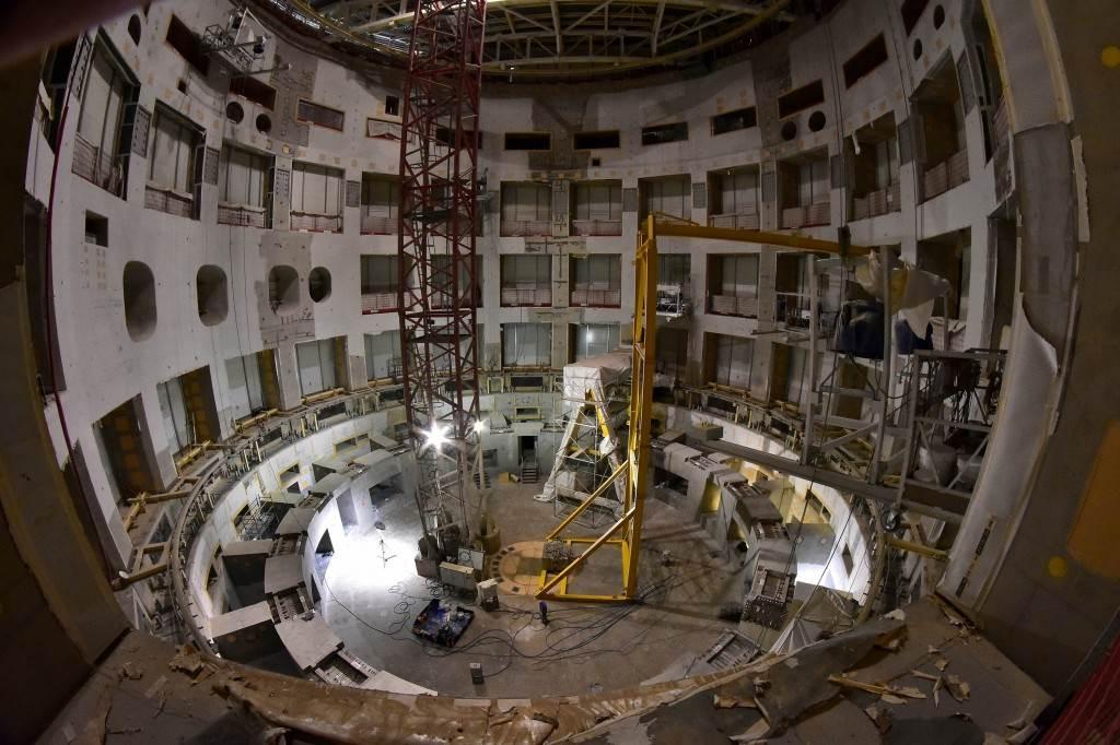 Tokamak Complex construction