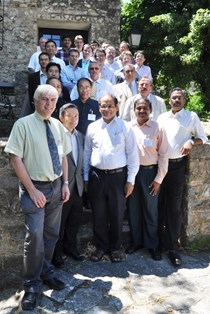Chairman Luciano Giancarli (front left), Chief Technical Officer of the TBM Program, and participants in the workshop on functional interfaces between Test Blanket Systems and ITER CIS and CSS networks. (Click to view larger version...)