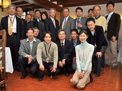 Consul General Tsukhara was welcomed by Director-General Ikeda and met most of the ITER Japanese staff (29 people) for a cocktail at the Château. (Click to view larger version...)