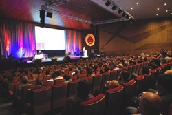 More than 1,000 participants attended the opening session of the 27th SOFT conference in Liège last week. (Click to view larger version...)
