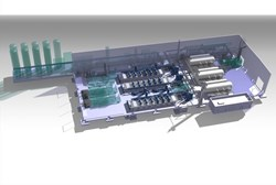 The ITER Tokamak will rely on the largest cryoplant infrastructure ever built. (Click to view larger version...)