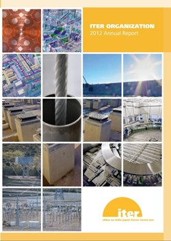 New reports from the Domestic Agencies are included on pages 40-48 of the 2012 ITER Organization Annual Report. (Click to view larger version...)