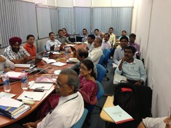The final design review for the acceleration grid power supplies took place on 29-30 August in India. The way is now paved for manufacturing activities to begin. (Click to view larger version...)