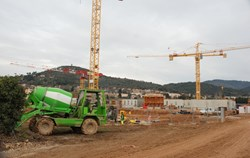 A large part of money pledged by the PACA Region has already been used to build the International School in Manosque. (Click to view larger version...)