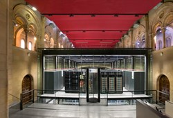 The supercomputer MareNostrum 3, at the Barcelona Supercomputing Center. Plans are underway for MareNostrum 4, which will be 12.4 times more powerful. (Click to view larger version...)