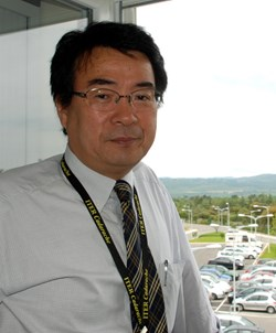 Eisuke Tada runs the biggest office within the ITER Organization. (Click to view larger version...)