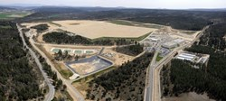 The ITER platform as it looks like at the moment. Copyright: Agence Iter France (Click to view larger version...)