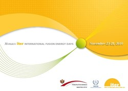 This conference, jointly organized by ITER and the Principality of Monaco in cooperation with the IAEA, will focus on fusion and the broader energy context. (Click to view larger version...)