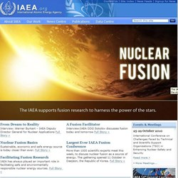 For the world at large fusion energy remains a distant dream, but the large group of distinguished scientists gathering in Deajeon recently made important headway to move the dream closer to reality, says the IAEA Deputy Director-General. (Click to view larger version...)