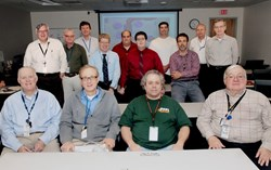 The masterminds behind the in-vessel coils at the Princeton Plasma Physics Lab. (Click to view larger version...)