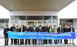 The Korean Domestic Agency understands how to consolidate the enthusiasm of all CAD working group members. (Click to view larger version...)