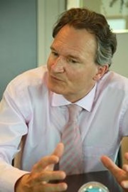Robert-Jan Smits, the Director-General of DG Research (RTD) within the European Commission. (Click to view larger version...)