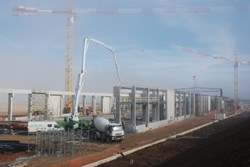The skyline over the ITER construction site has changed again. (Click to view larger version...)