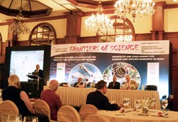 The iconic Taj Bengal hotel in Kolkata was the venue for the Frontiers of Science Conference. (Click to view larger version...)