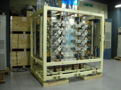 The 1/6 scale converter unit, manufactured and tested at the Korean Domestic Agency. (Click to view larger version...)