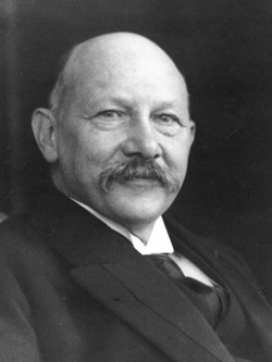 For ''his investigations on the properties of matter at low temperatures which led, inter alia, to the production of liquid helium,'' the Dutch Physicist Heike Kamerlingh Onnes was awarded the Nobel Prize for Physics in 1913. (Click to view larger version...)