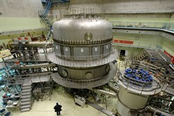 The Chinese Government is serious about promoting fusion research: In this photo you see the Experimental Advanced Superconducting Tokamak, in short EAST, that went into operation in 2006. (Click to view larger version...)