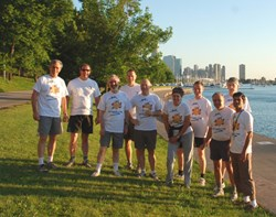 The vitality of the fusion program very much depends on the cross-fertilization of the ideas ... and on the vitality of its actors! The ITER team participating in the first biennial ''Run for Endless Energy,'' a 5K fun race along Chicago's waterfront. (Click to view larger version...)