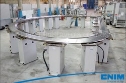 The side radial plate completed by CNIM in Toulon, France. Photo courtesy of CNIM. (Click to view larger version...)
