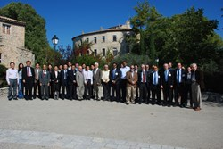 The Test Blanket Module Program Committee gathering this week in Cadarache. (Click to view larger version...)