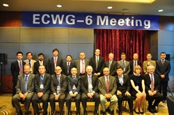 The working group on Export Control, Peaceful Uses and Non-Proliferation (ECWG) in its sixth meeting. (Click to view larger version...)