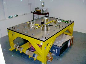 On a prototype built by the UK firm AMEC, the metrology team was able to confirm the steps and feasibility of blanket alignment through five complete iterations. (Click to view larger version...)