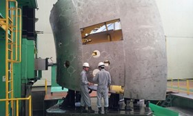 Although the company has experience in the domain of fusion, having manufactured the core components of the KSTAR Tokamak in the early 2000s, the production of sectors for the ITER vacuum vessel presents some unique challenges. © Hyundai Heavy Industries (Click to view larger version...)