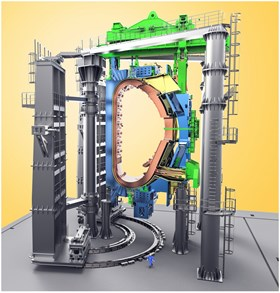 Korea is responsible for the design and fabrication of the Sector Sub-Assembly tools as well as 127 other purpose-built assembly tools. From 6 to 8 October 2014, a Design Integration Review took place at ITER Headquarters for the first batch of 23 tools. (Click to view larger version...)