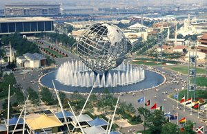 "Dedicated to ""Man's Achievement on a Shrinking Globe in an Expanding Universe,"" the 1964 New York World's Fair opened on 22 April in Flushing Meadows. One of its most spectacular attractions was General Electric's Progressland where the Fusion Demonstration was performed non-stop."