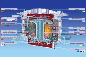 ITER Members are involved broadly in the in-kind procurement for ITER, sharing responsibility for the fabrication of components and systems. Participating in ITER also means reinforcing the scientific, technological and industrial base in fusion back at home. (Note: not all components and contributions could be reproduced here.)
