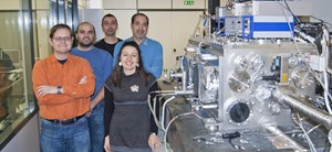 David Jezeršek (left, with his colleagues at the Elettra Synchrotron in Trieste, Italy) created the Unofficial ITER Fan Club website at age 27 in September, 2005—about a year before Newsline published its first issue. (Click to view larger version...)