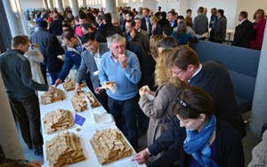 This third ITER Member Day of the year was the occasion to visit the culture and traditions of Europe, in the airy setting of ITER's brand-new cafeteria. (Click to view larger version...)
