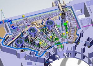 ITER's neutral beam system will deliver seven times the energy of JET's. (Click to view larger version...)
