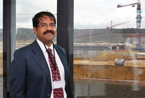 Kattalai Ramachandran Sriram now leads ITER's Finance, Budget & Management Directorate. (Click to view larger version...)